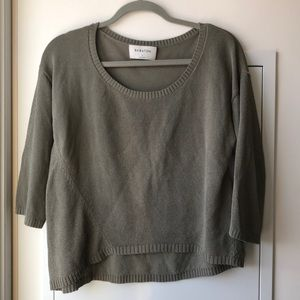 Sweaters - Aritzia babaton green sweater